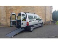 2007 Citroen dispatch 1.9 diesel ⭐ wheelchair access vehicle disabled ⭐ 5 seats + wheelchair