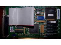 Ikon 10117 Hardcopy Interface for PCI Bus (Versatec) - Guaranteed - Excellent Condition