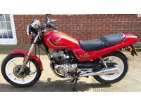 1995 Red Honda CB 250 Motorcycle 20k