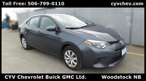 2015 Toyota Corolla LE - $8/Day - Rear Camera & Heated Seats