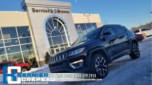 2018 Jeep Compass Limited **TOIT PANO, GPS, ENS. CHAUFFANT**