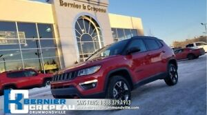 2018 Jeep Compass Trailhawk **TOIT PANO, GPS, ENS. CHAUFFANT**