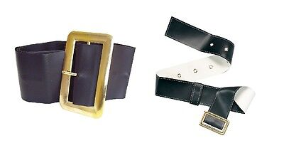 Black #Belts For Pirate Or Santa Outfit Christmas Nativity Fancy Dress 2 - Black Santa Outfit