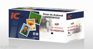 TONER CARTRIDGE FOR HP 12A Q2612A LASERJET 1010 1012 1015 1018 1020 1020 1022
