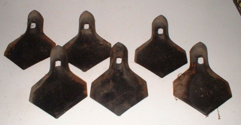 """24 Pc of 4"""" S-Tine Sweep Veldmaster Rusty - Closeout pricing"""