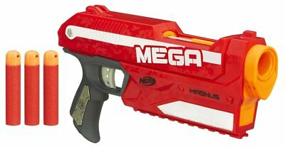 Nerf N-Strike Elite Pistola Mega Magnus Lanzadardos Hasbro A4887