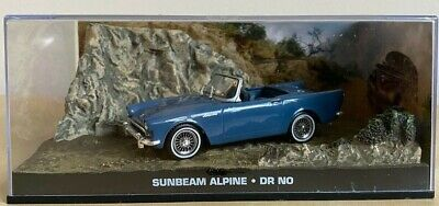1962 Sunbeam Alpine James Bond 007 Movie Dr. No 1/43 Scale Car New In Box-L@@K
