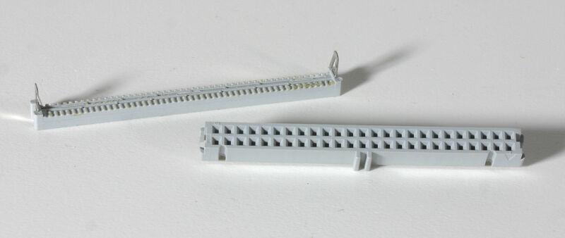 3M  50 POSITION IDC CABLE CONNECTOR  Model 3425-6600 - 5 Pieces