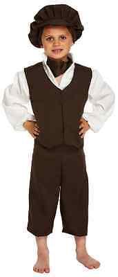 Jungen Oliver Twist Viktorianisch Urchin Bauer Kostüm