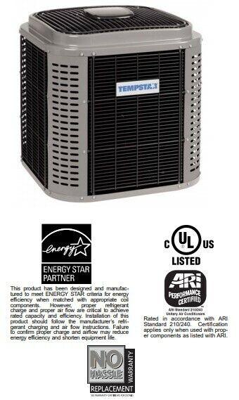 Condenser, A/C, ICP/TempStar T4A624GKD, 2-ton, 16 SEER, R-410a, Air  Conditioner