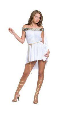 Muse Greek Goddess Costume Underwraps 29061 sizes m,l,xl](Greek Muse Costume)