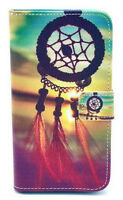 Samsung Galaxy S5 Dreamcatcher Bell Leather Flip Cover Case