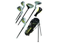 Go Junior High Quality children 7 Piece Golf Starter Kids Package set age 4-5..... brand new