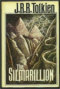 THE-SILMARILLION-Tolkien-HCDJ-w-HUGE-PULL-OUT-MAP-FIRST-EDITION-3rd-PRINTNG