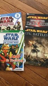 Star Wars Easy Ready type books levels 2-4