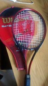 Wilson Tennis racket and sleeve