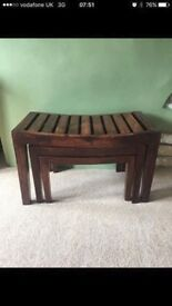 Excellent Condition Set Of 3 Nest Tables