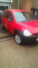 Cracking little ford Ka for sale 08 registration,nice bright red paintwork,clean and tidy