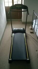 EVERLAST ROGER BLACK SILVER MEDAL TREADMILL / RUNNING MACHINE. LITTLE USED IN PERFECT WORKING ORDER