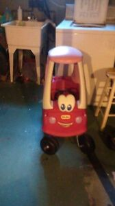 pink princess cozy coupe car.. little tykes