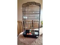 Beautiful large bird cage. As new. Collection willesbourgh. Cost £60