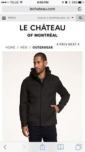 Mens Le Chateau Wool winter jacket