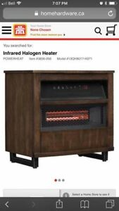 infrared halogen heater