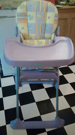 Highchair - mothercare brand