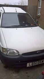 cheap little escort van 11 months mot