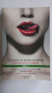 Collection de livres True Blood