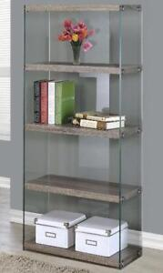 Tempered Glass Bookcases
