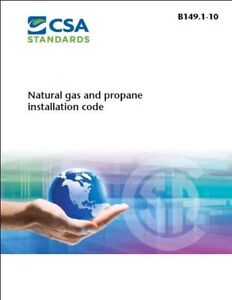 B149 gas and propane code books