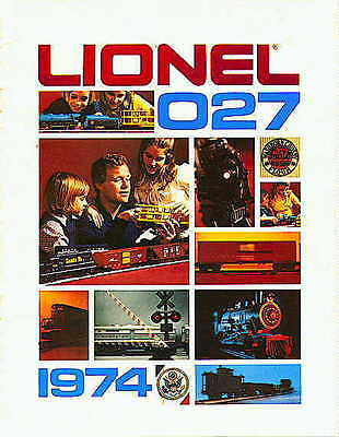 1974  LIONEL TRAINS CONSUMER CATALOG USED