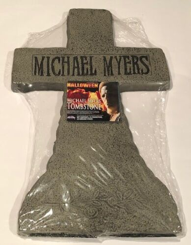 Halloween Michael Myers tombstone new in package, Rob Zombie film