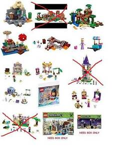 Wanting to buy Lego Minecraft or Disney sets Brisbane City Brisbane North West Preview