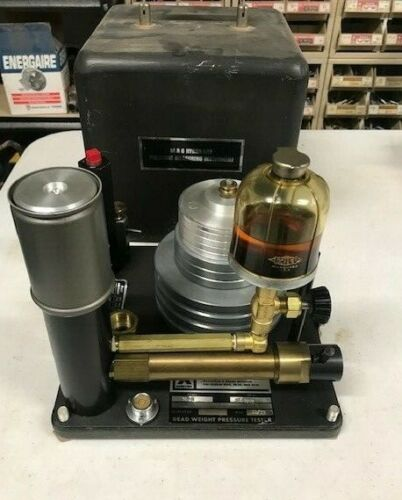 Ametek Hydra-Lite M&G Dead Weight Pressure Tester Model HL-2