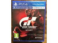 Gran Turismo Sport PS4 new and sealed