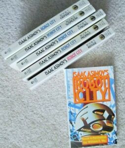 ~ ISAAC ASIMOV'S ~~ ROBOT CITY ~ Books 1 - 6