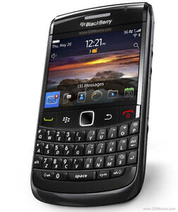 Famous Blackberry Bold 9780 slim sleek smartphone with keyboard