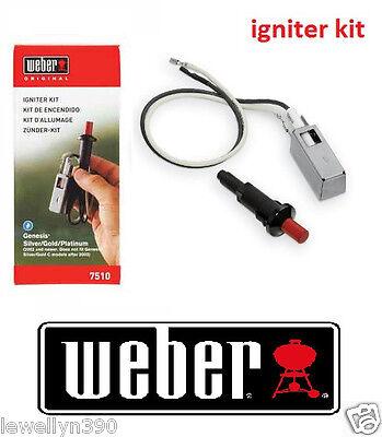 NEW! Weber - 7510 Gas Propane Grill Igniter Kit - Black Spirit Genesis Summit