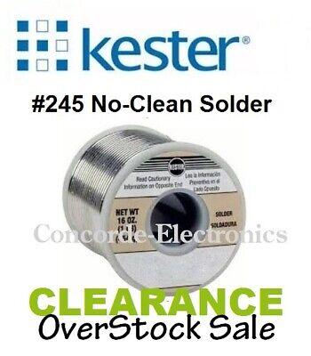 Kester No-clean Silver Solder 24-7150-8800 245 Sn62pb36ag2 .0311 Reg 76
