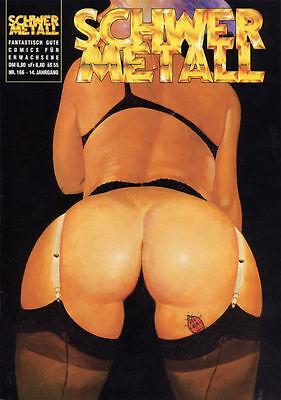 Schwermetall GBÜ - Heft Nr. 166 in Topzustand !!!
