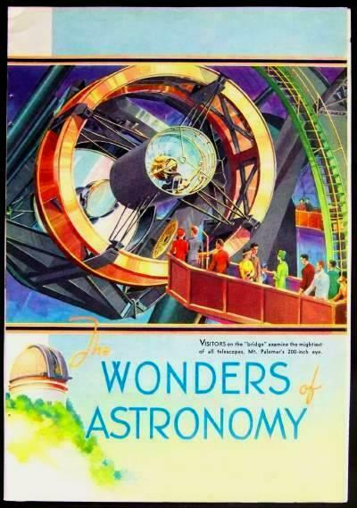 Mt. PALOMAR Telescope Observatory 1939 Color Pictorial