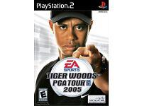 Tiger Woods PGA Tour 2005 PS2 game