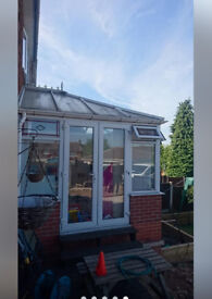 PVC White Conservatory for sale