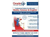 Grade Up Tuitions - Maths, Science and English Tuitions by Specialist Tutors
