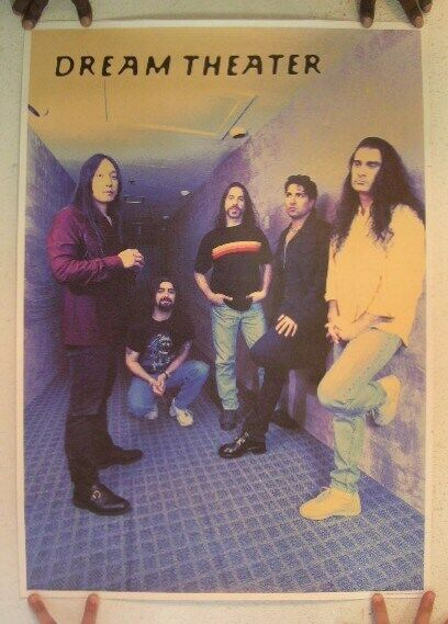 Dream Theater Poster Band Shot