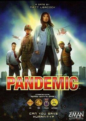 Pandemic Board Game Standard Packaging Z-Man Games