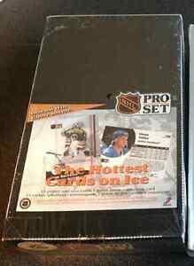 Sealed box of NHL Pro Set 1991 cards