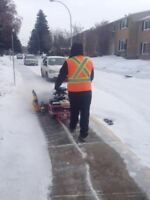 Looking hardworking people for snow removal between $14 - $18
